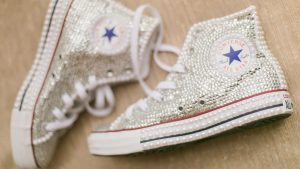 Blinged-Out Converses and an Ice Cream Float Bar Are Just Two Reasons to Love This Glam DC Wedding