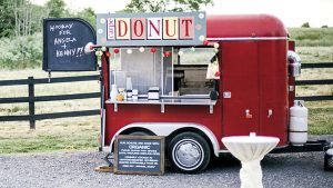 Today's Obsession: The Doughnut Truck at This OMG Leesburg Barn Wedding
