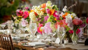 See a Hotel Ballroom Turn Into the Happiest Spring Garden for This DC Wedding
