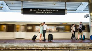 A Reagan Airport Engagement Shoot — Why Have We Never Seen This Before?
