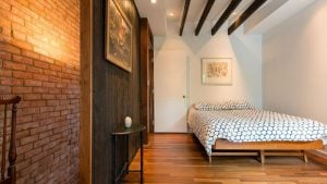 Listing We Love: This Old Town Alexandria Row House Feels Like a Hip Cabin Inside