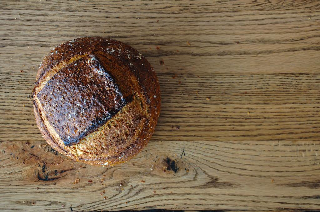 Chef and baker Nathan Hatfield is behind the global array of breads and baked goods.