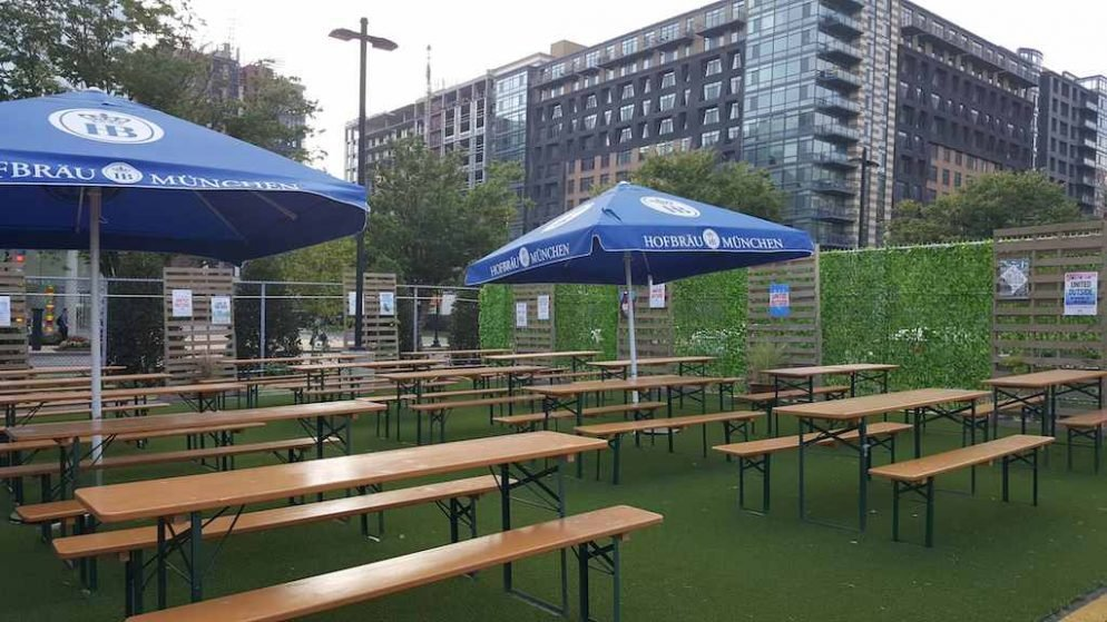 Dc S Newest Beer Garden Finds A Home In Noma Washingtonian