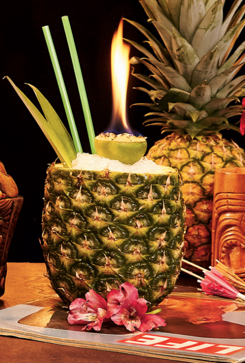 "The ""Pineapple of Hospitality"" at Archipelago. Photograph by Jeff Elkins"