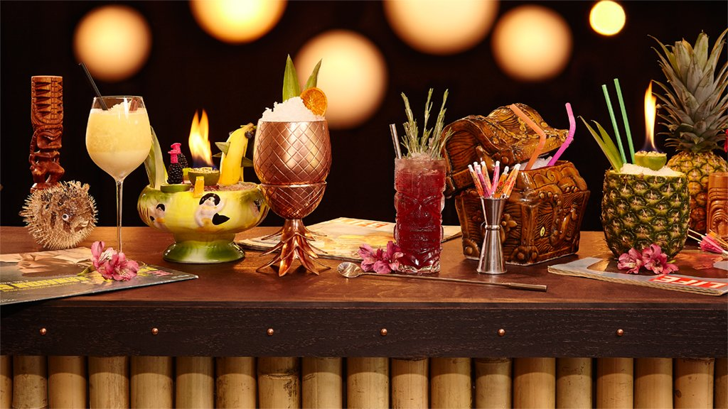 The best tiki drinks around DC. Photographs by Jeff Elkins.