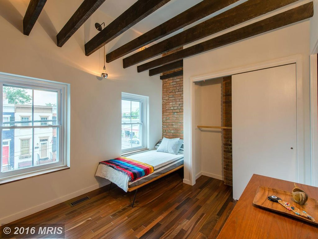 Wait Until You See The Modern Interior Of This Old Town Row House