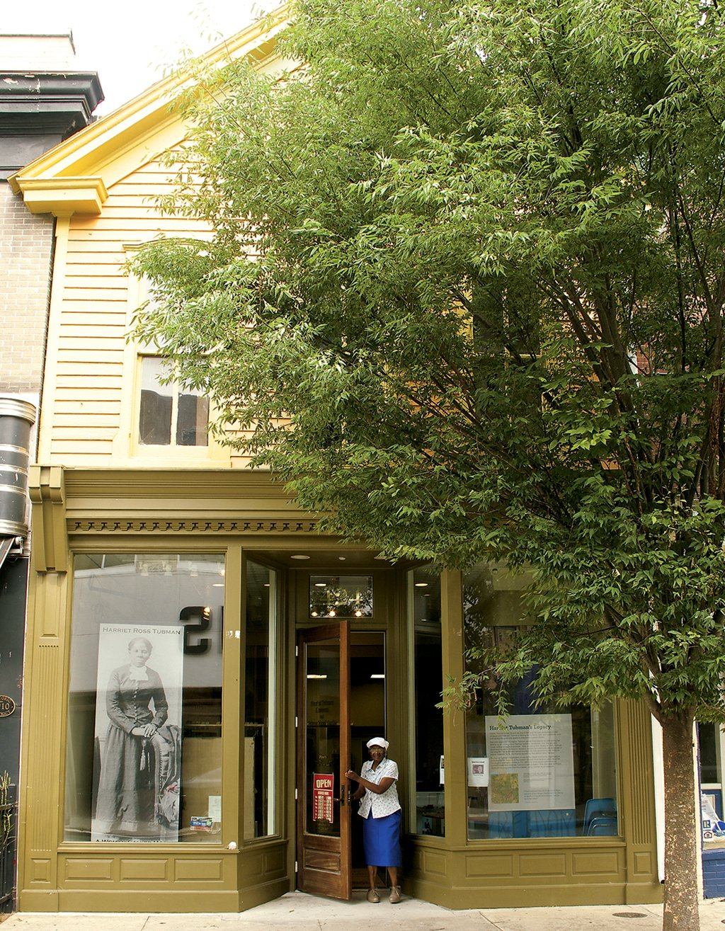 The Tubman Museum. Photograph courtesy of courtesy of Dorchester County Tourism.
