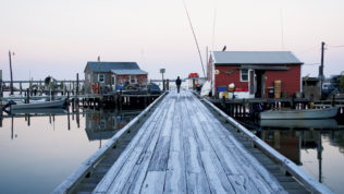 Chesapeake Bay Islands: Smith Island, once dubbed by CNN as one of the best places to drop off the grid. Photograph by Shannon Hibberd/Getty Images.