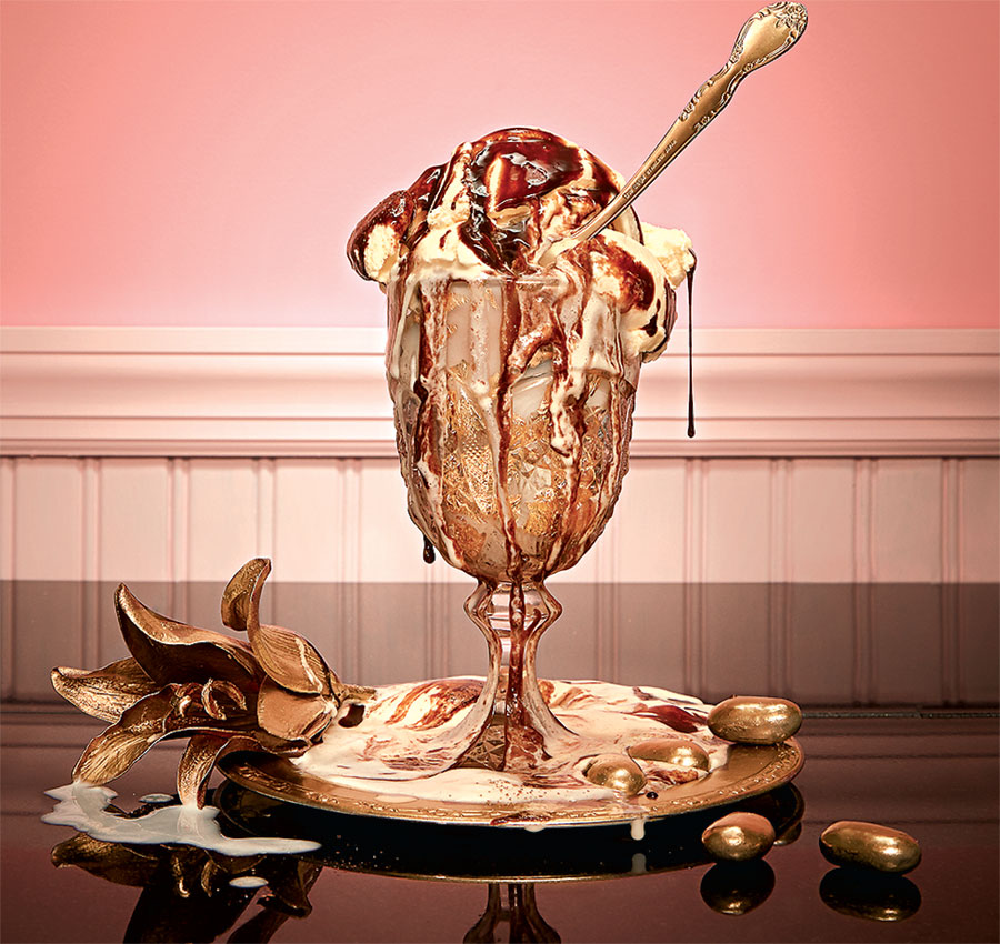 Serendipity was known for its elaborate ice cream sundaes. Photograph by Jeff Elkins.