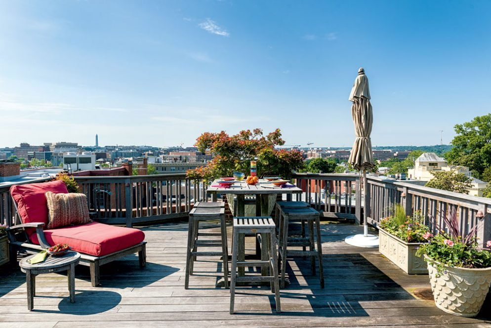 Roof Deck Inspiration: Monumental Views From Kalorama