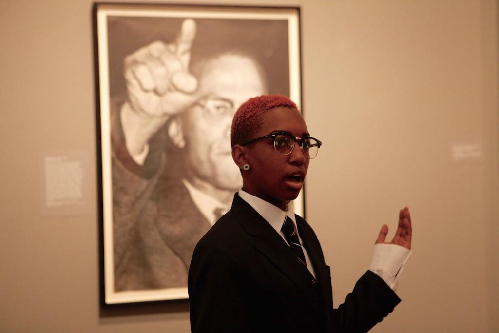 Kyla-Mechelle Petty as Malcolm X