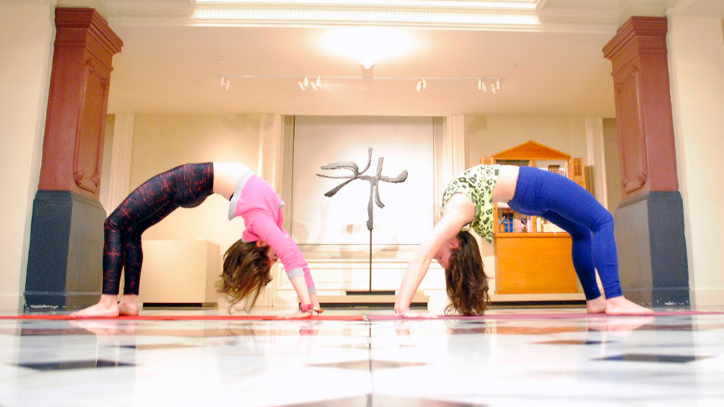 things to do in dc this week Lift the post-holiday fog with a refreshing yoga class in the Luce Foundation Center of for American Art.