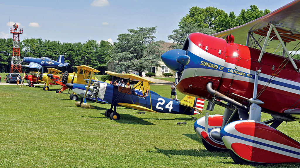 Chesapeake Bay Museums: The Massey Air Museum. Photograph courtesy of Massey Air Musem.
