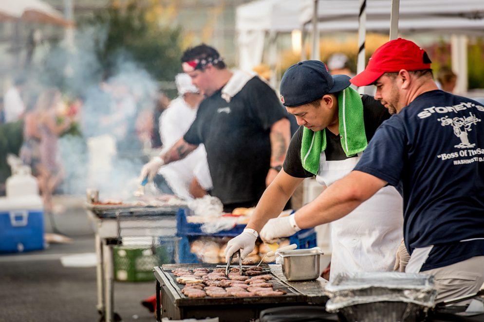 Photos from Washingtonian's Bud & Burger Battle