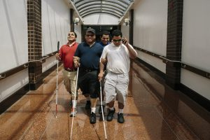 Meet an Amazing Blind Man Raising Blind Triplets