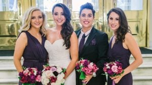The Maid of Honor Wore a Tux at This DC Hotel Wedding. How Rad Is That!?