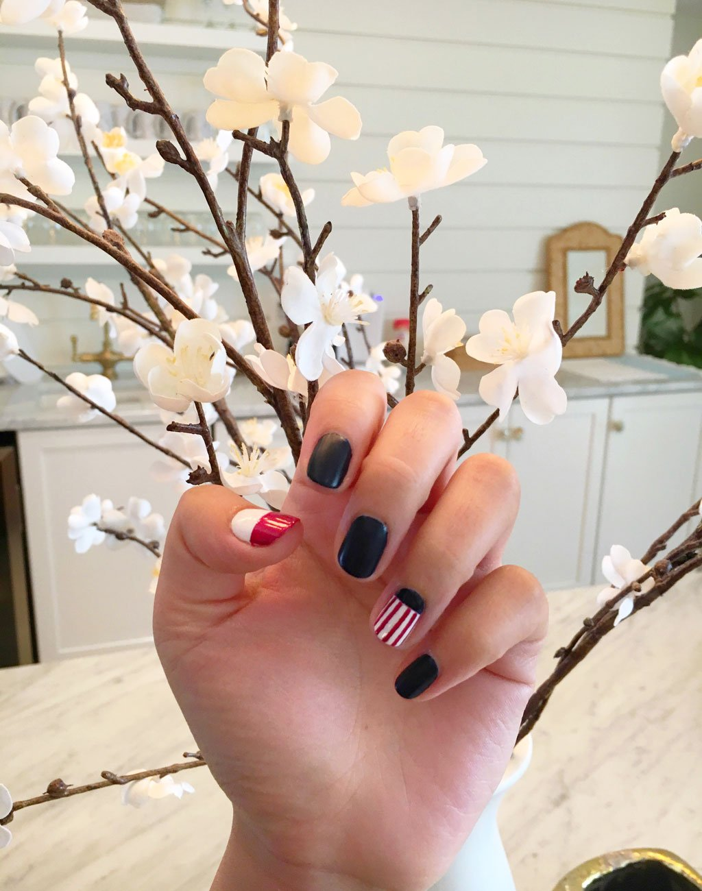 Nail art and photo courtesy Varnish Lane.