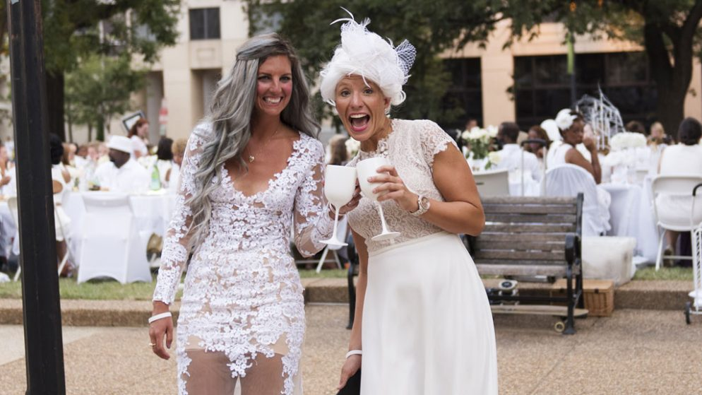 Get Ready for Dîner en Blanc With Prep Parties at These Georgetown Stores