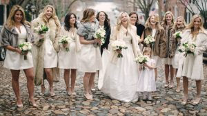 This Winter White Wedding Will Make You Wistful for Cold Weather