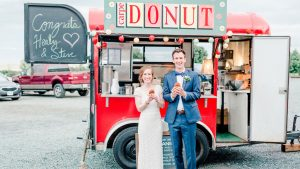 A Doughnut Truck + Wine Tasting Cocktail Hour Are Just Two Reasons to Love This Sweet VA Wedding