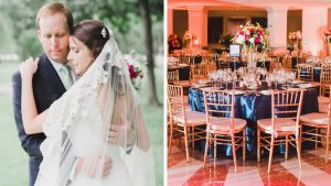 The Veil at this Preppy-Glam DC Wedding Deserves a Slow Clap of Its Own