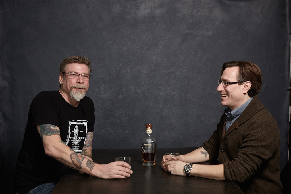 The Brown bartenders: Tom Brown (left) of the Passenger and Left Door, and Derek Brown (right) of the Columbia Room, Southern Efficiency, and Eat the Rich. Photograph by Scott Suchman