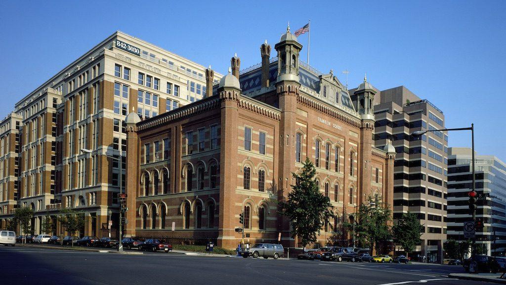 Franklin School in DC. Photo by Carol M. Highsmith.