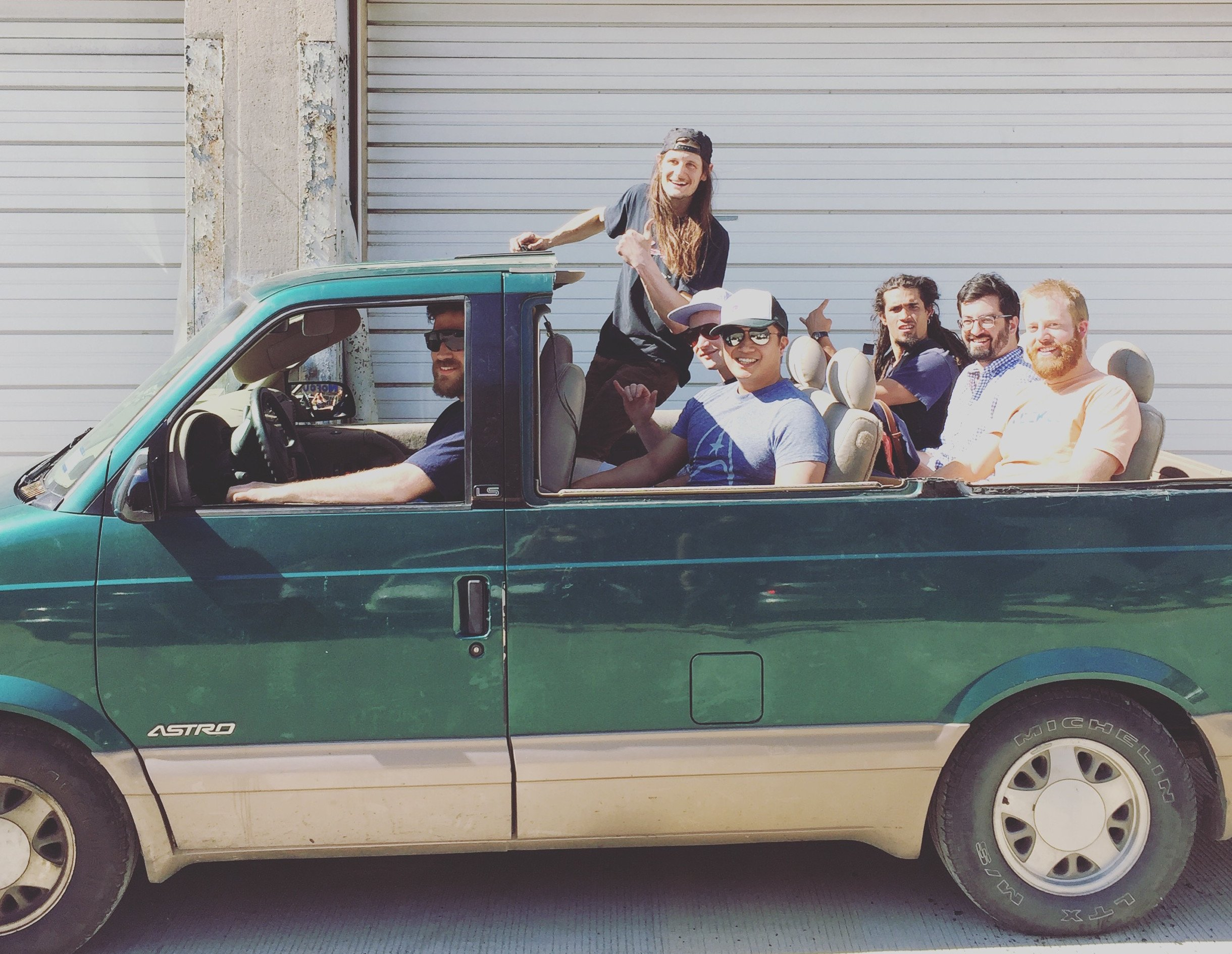 These People Cut the Roof Off Their Van and Called It