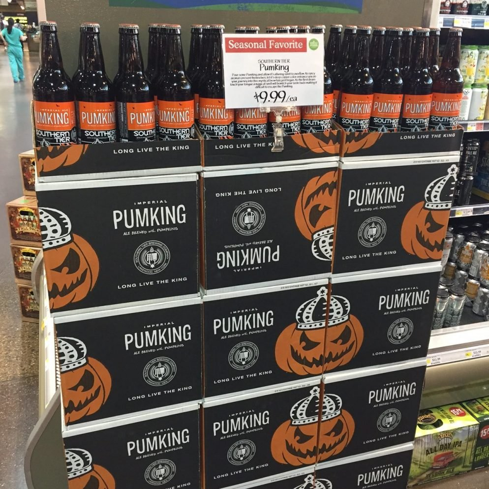 Why Pumpkin Beer Hits The Shelves When It's 100 Degrees