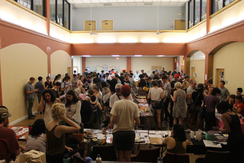 DC Zinefest at St. Stephen's Church. Photo by Greta Weber.