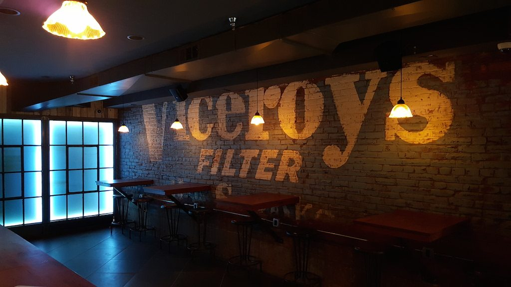 Ivy City-based artist Billy Colbert contributed murals for a retro look.  The happy hour: ...