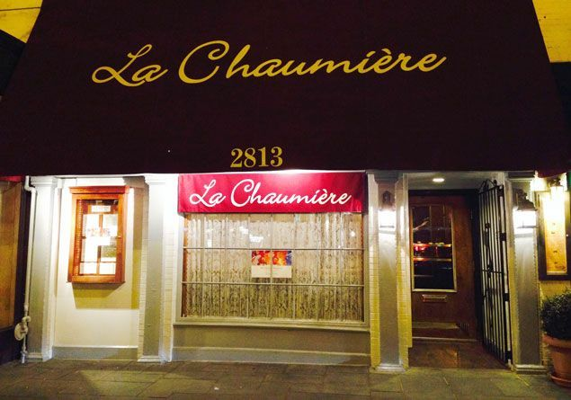 Dine on classic French dishes at Georgetown's La Chaumiere. Photograph by Carol Ross-Joynt