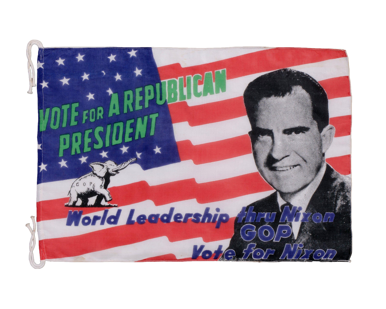 Richard Nixon Campaign Flag