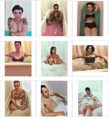 Screenshot from the Bathtub Project website.