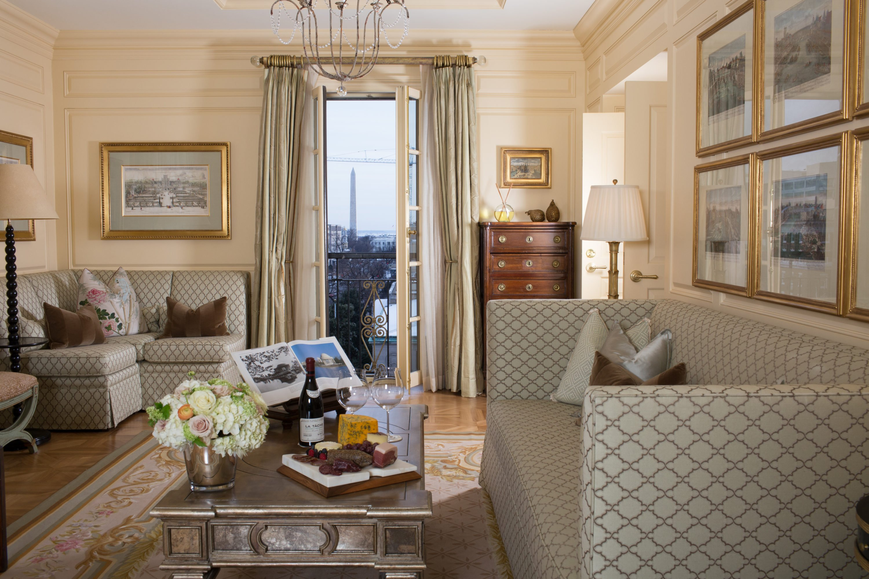 it will cost over 33 000 to stay in the the parlor in the thomas jefferson suite at the jefferson hotel photo courtesy of the