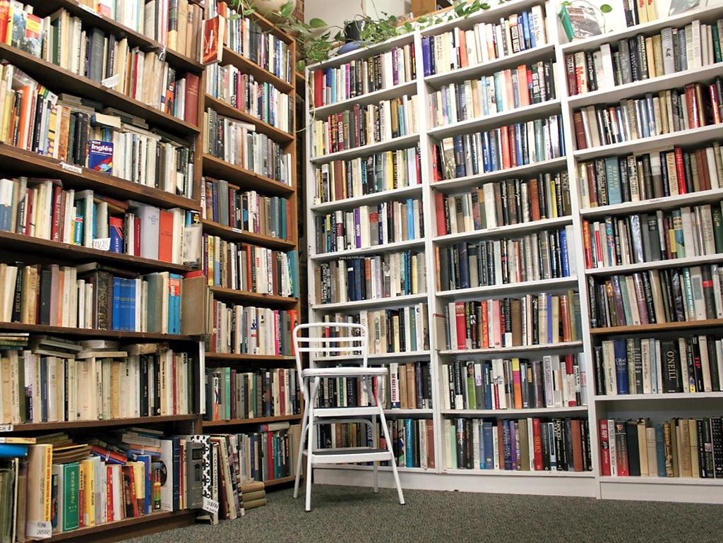 Idle Time Books. Photograph courtesy of Idle Time Books.