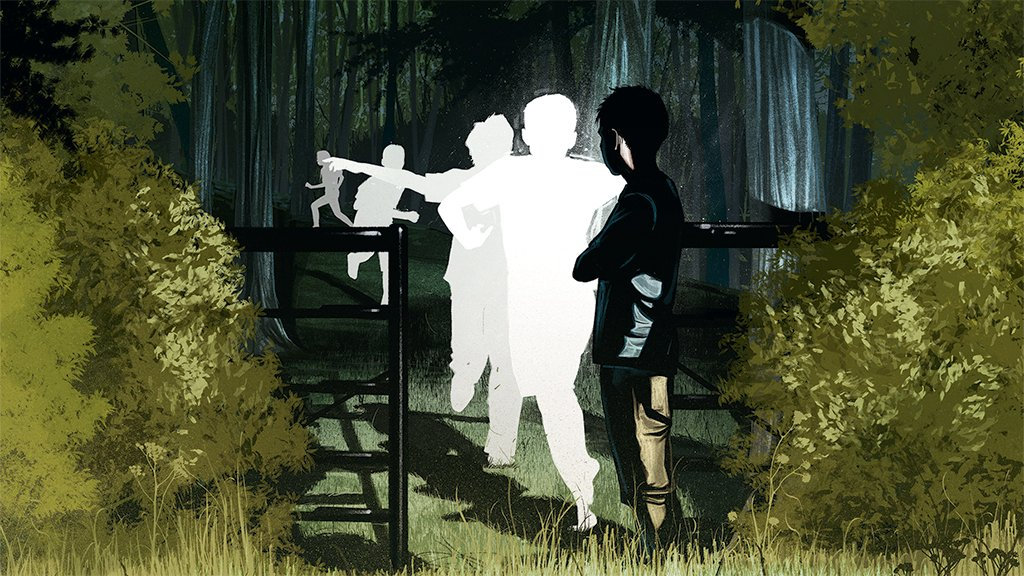 Ann Patchett puts Virginia at the center of her new novel about how the landscape haunts Americans' understanding of our past. Illustration by Jonathan Bartlett.
