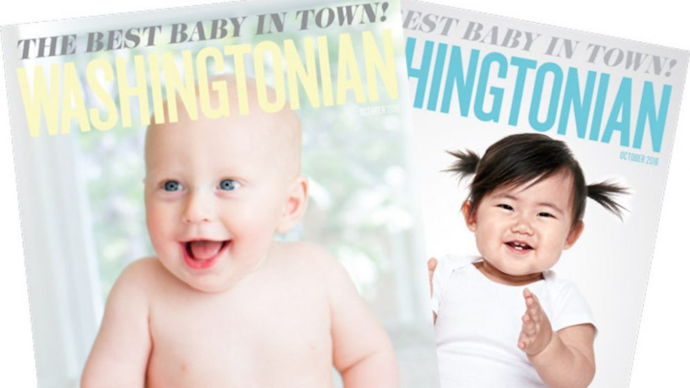 Submit Photos of Your Little Ones in Washingtonian's Cutest Baby Contest