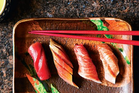 Sushi Ogawa Team Will Open High-End Omakase Counter in the Mandarin Oriental Hotel