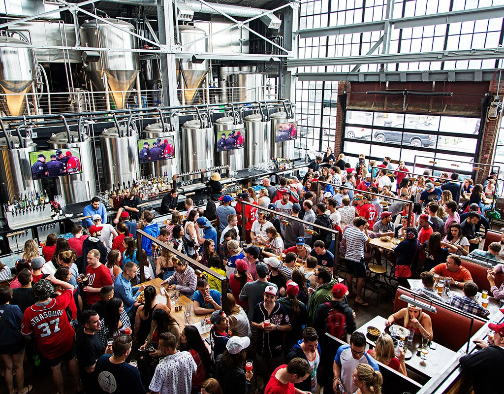 DC's Bluejacket brewery. Photograph by Scott Suchman.