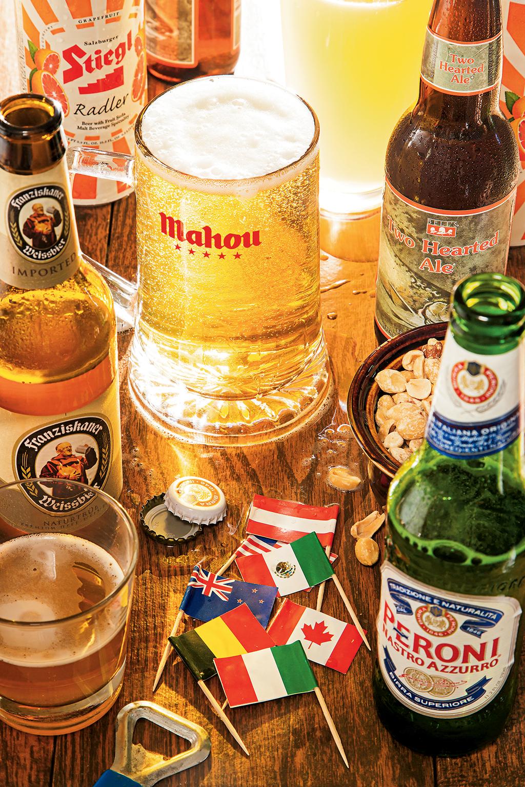 International beer. Photograph by Scott Suchman.