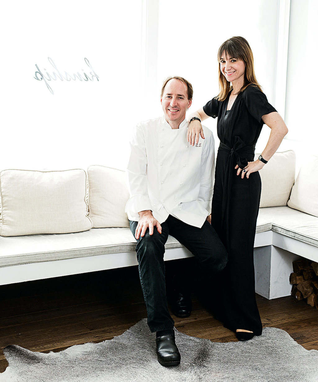 Kinship owners Eric Ziebold and Célia Laurent.
