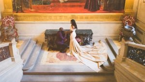 This Glam Engagement Session Feels Almost Too Regal for DC