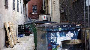 Philadelphians Warned to Stop Swimming in Garbage Containers