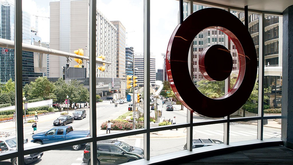 Rosslyn's compact, mini Target is part of an effort to cater to the carless. Photograph by Evy Mages.