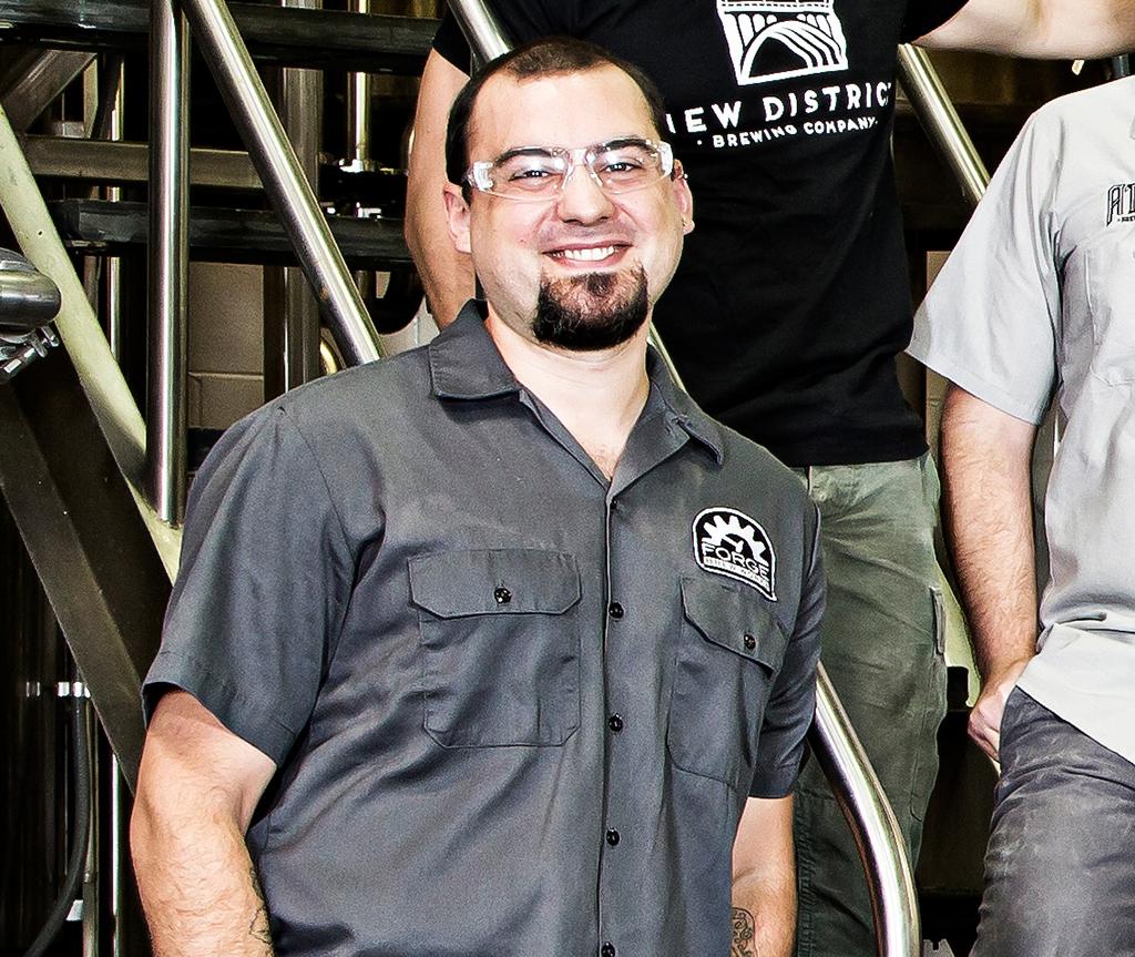 Matt Rose, founder of Forge Brew Works.