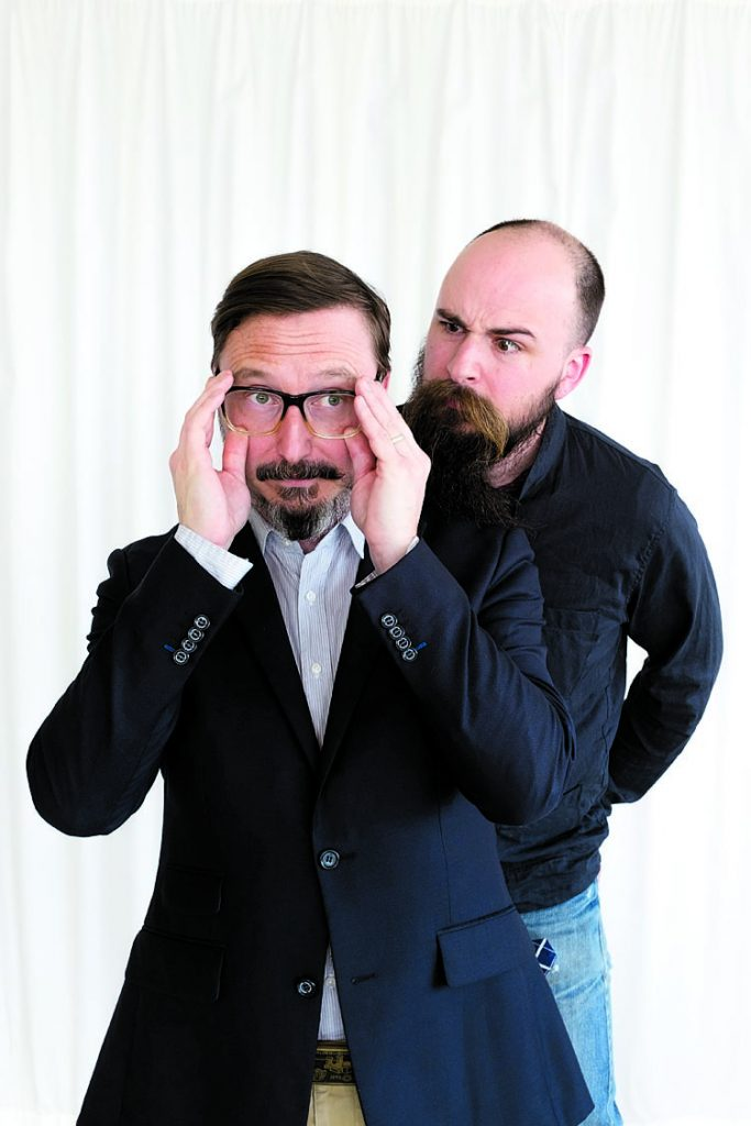 Photograph of Hodgman and Thorn by Ibarionex Perello