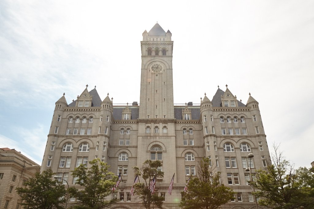 Where Will the President's Supporters Hang Out If the Trump Hotel's Lease Is Sold?