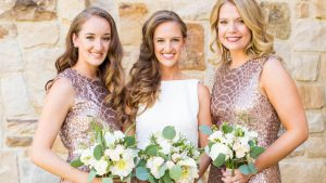 The Sequin Snakeskin Bridesmaid Dresses Steal the Show at this Sweet Salamander Resort Wedding