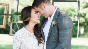 The Way This Virginia Groom Looks at His Six-Months-Pregnant Bride Will Make You Melt